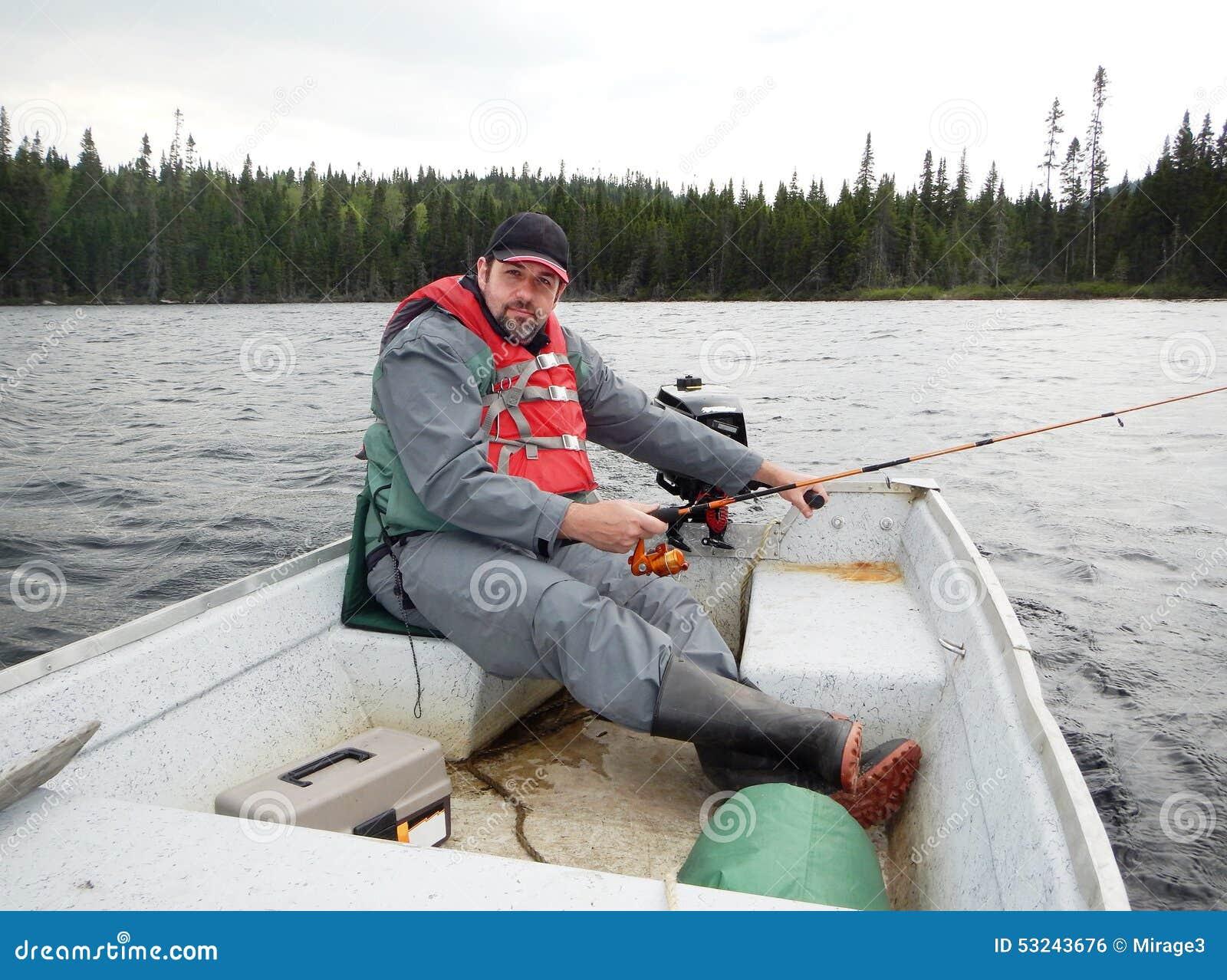Рыбная ловля человека