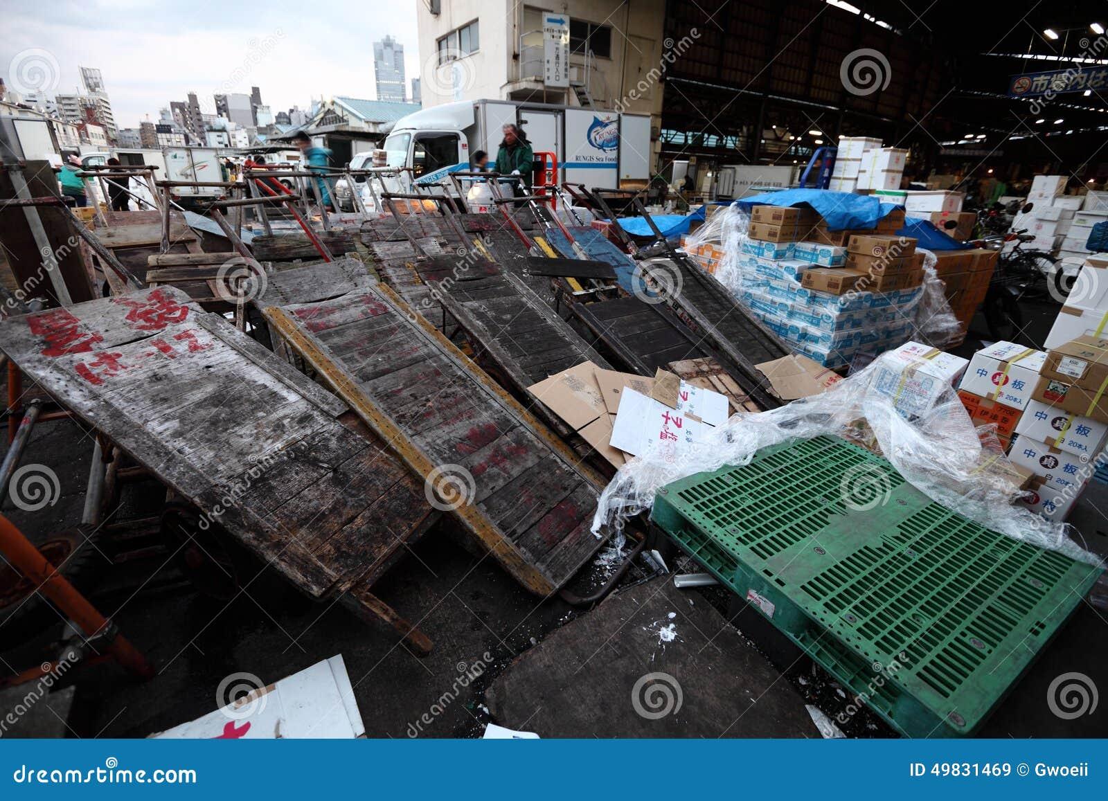 Рыбный базар Tsukiji
