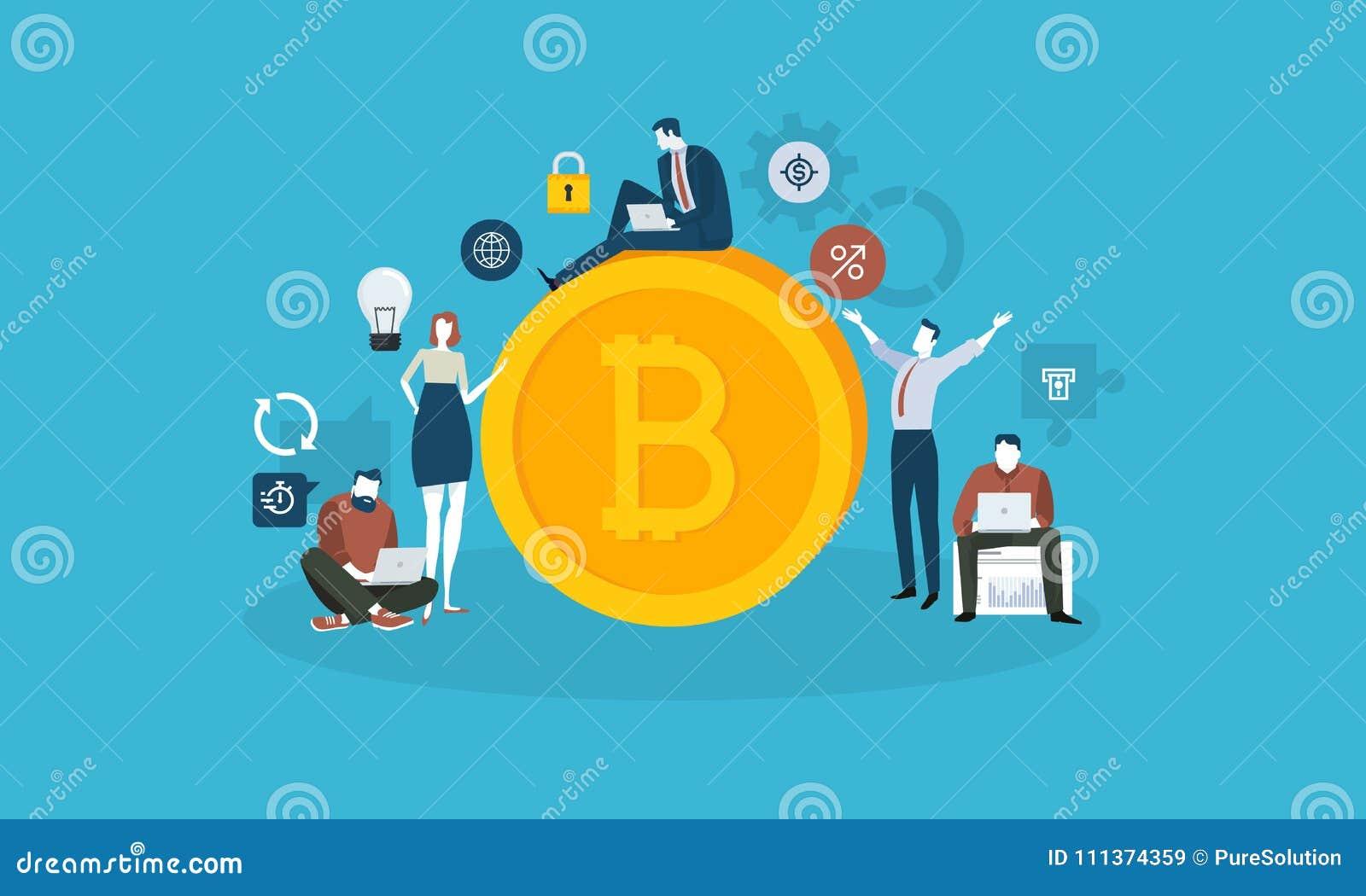 Рынок технологии Bitcoin