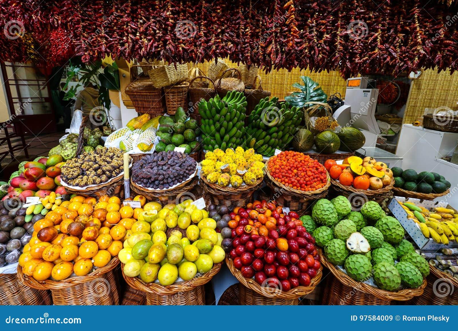 Рынок Hall Фуншала, Мадейры