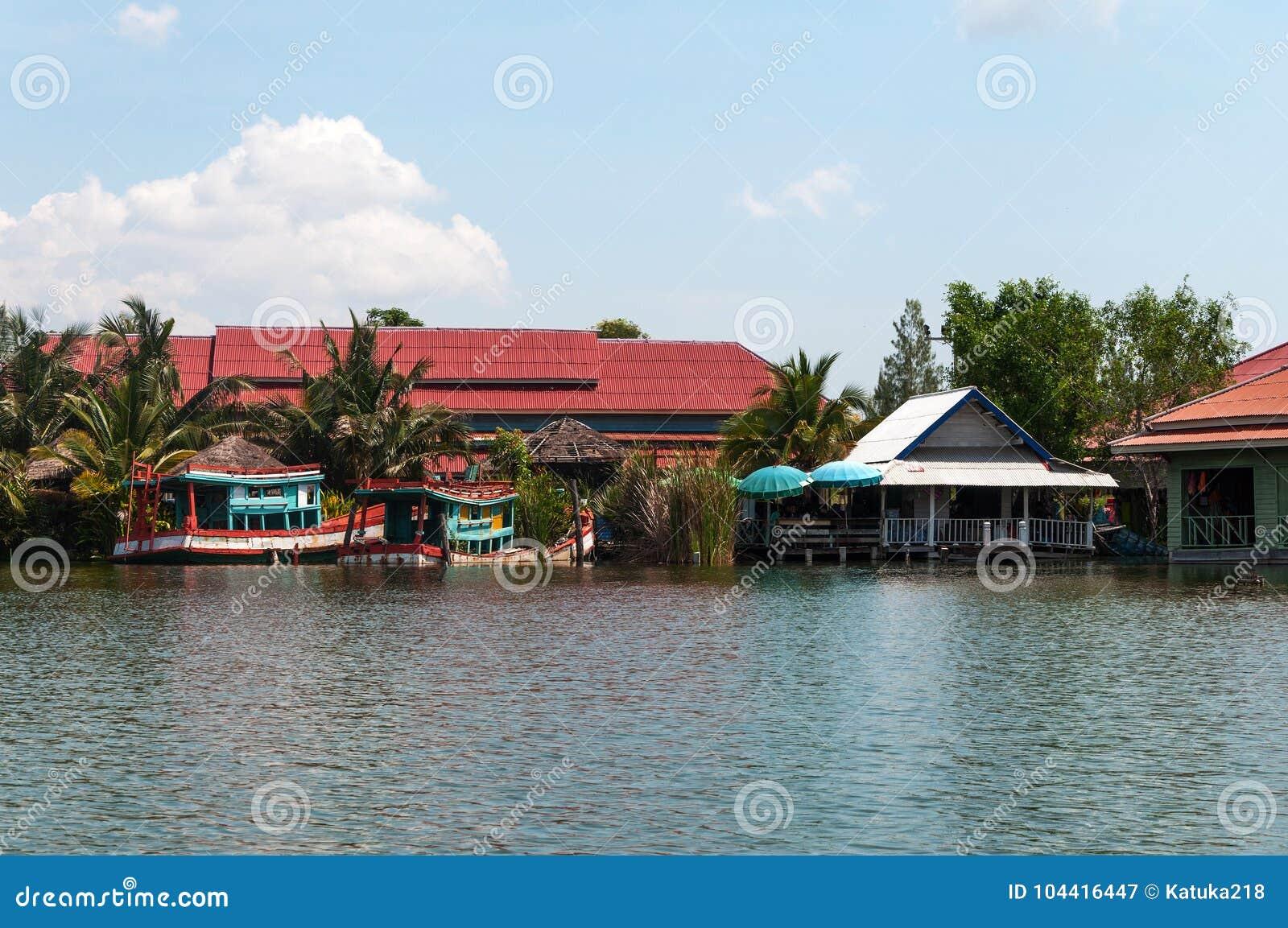 Рынок Hua Hin плавая в Hua Hin Таиланд