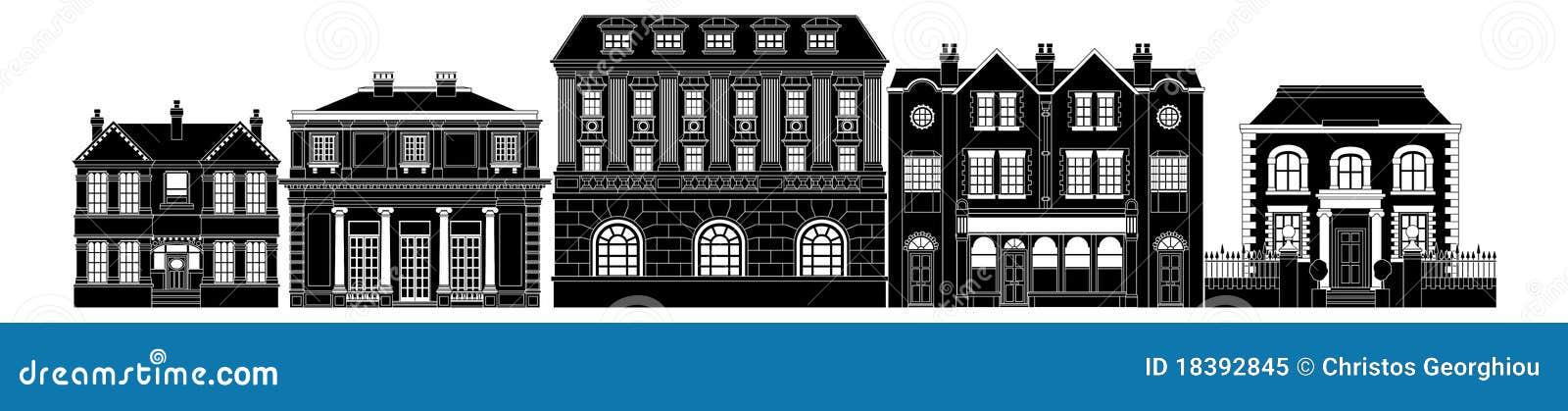 рядок зданий шикарный франтовской