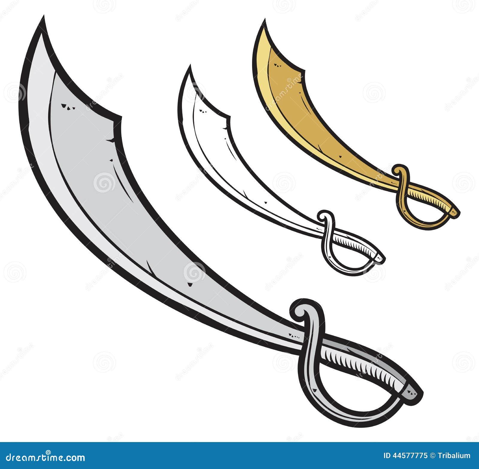 Оружие пирата из картона своими руками