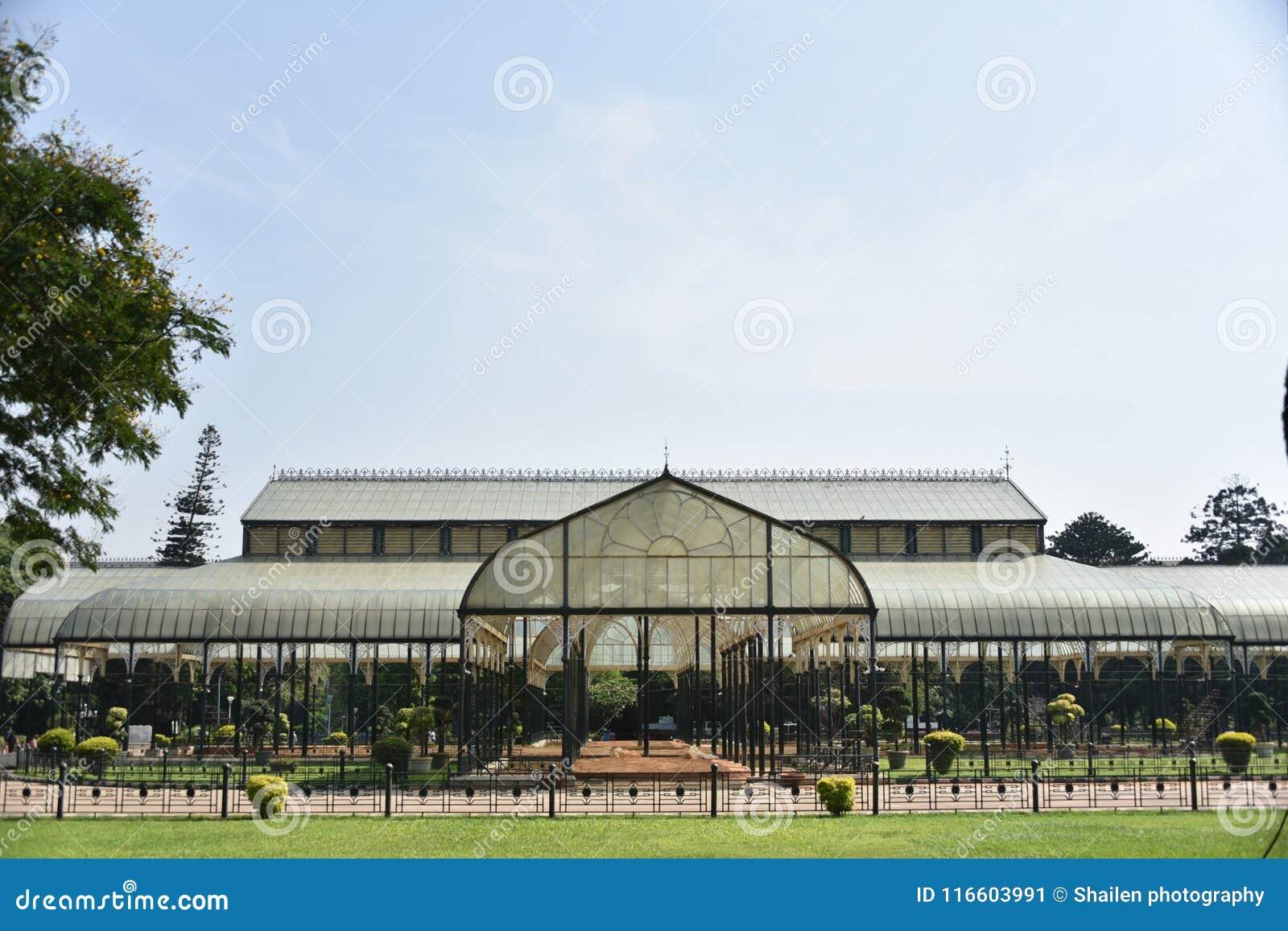 Сады Lalbagh ботанические, Бангалор, Karnataka,