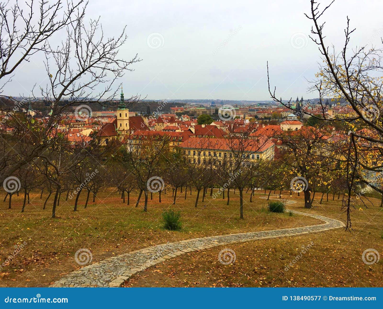 Сады Petrin, Прага