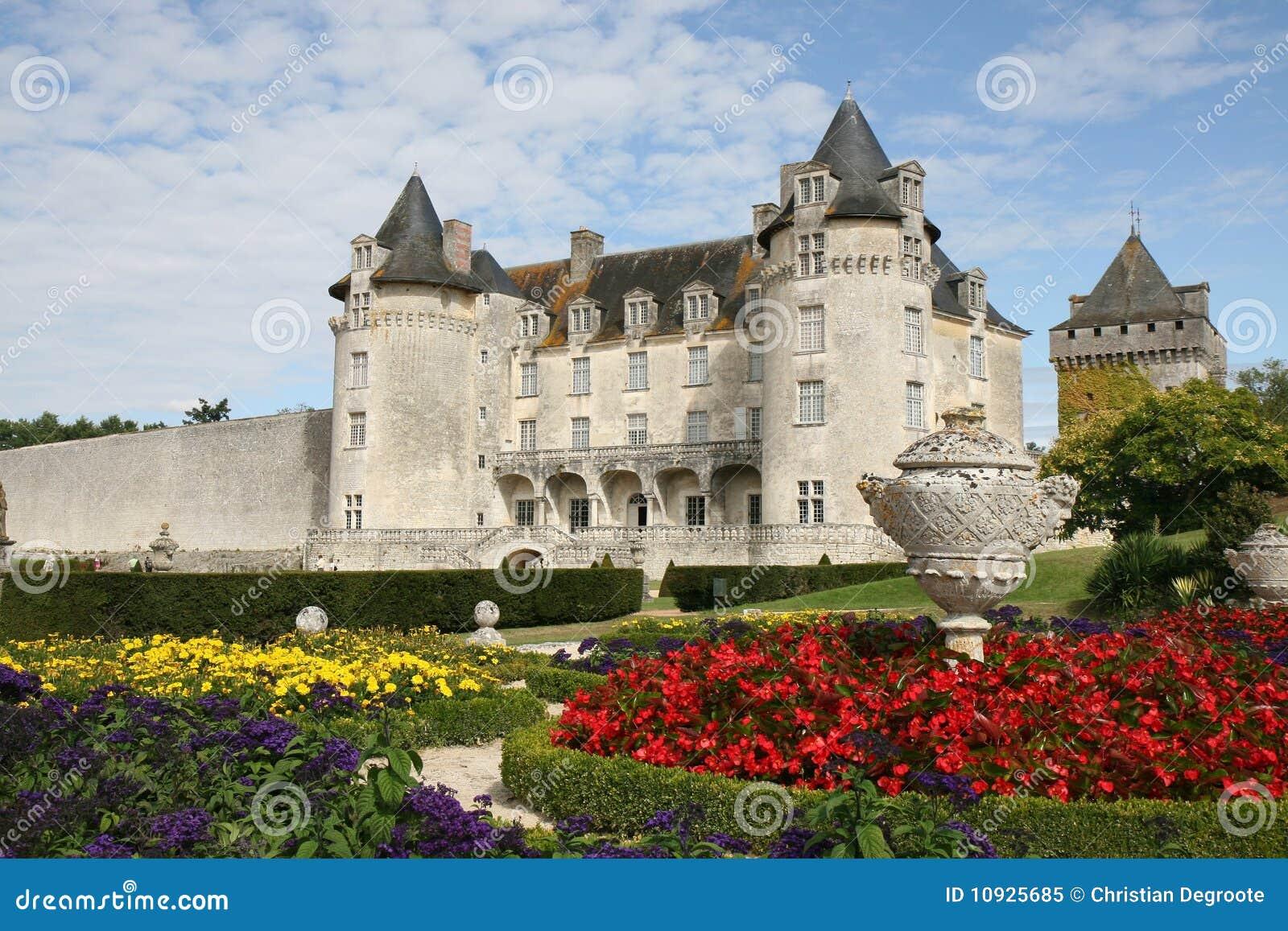 сад La Roche courbon замока