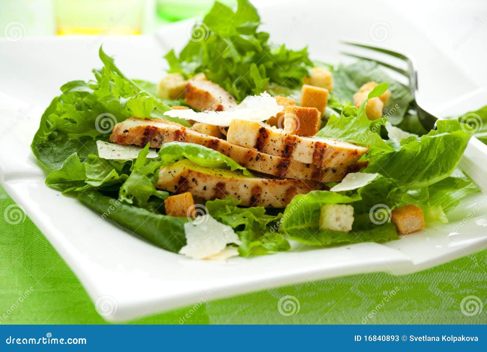 Салат с брынзой рецепт цезарь