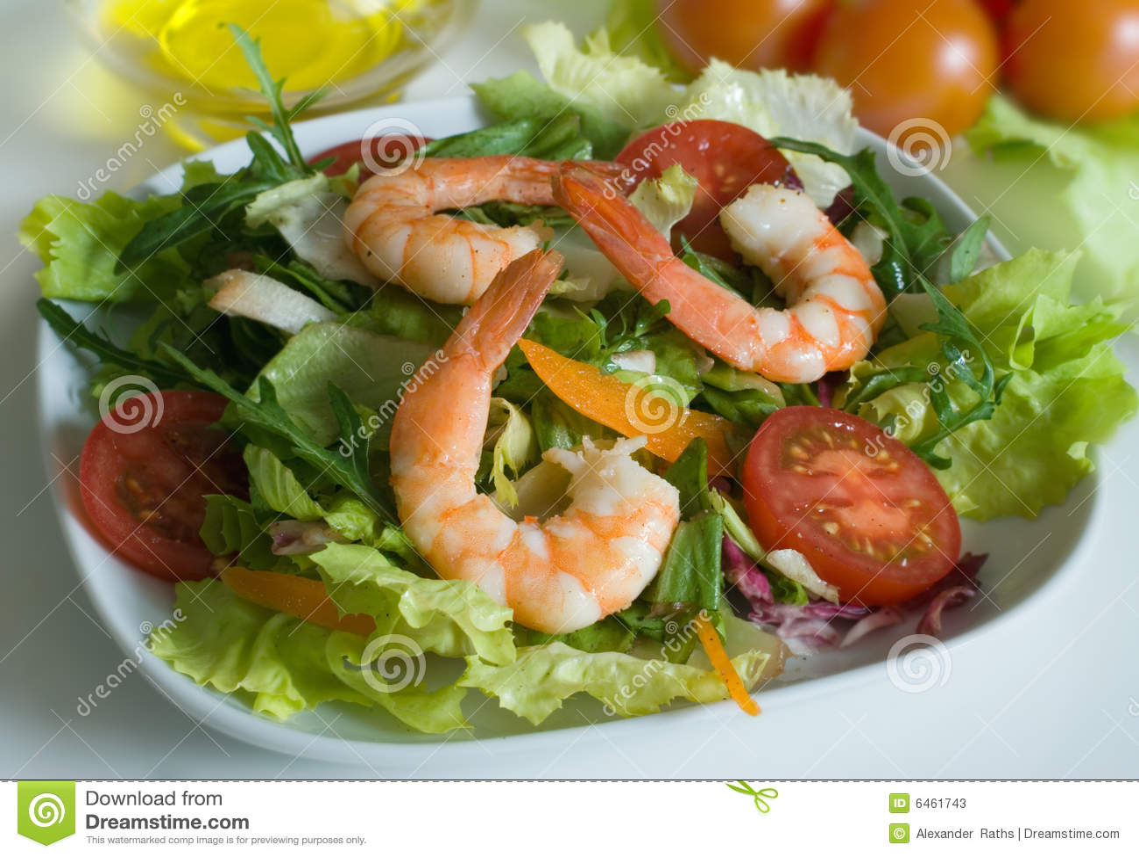 салат креветки