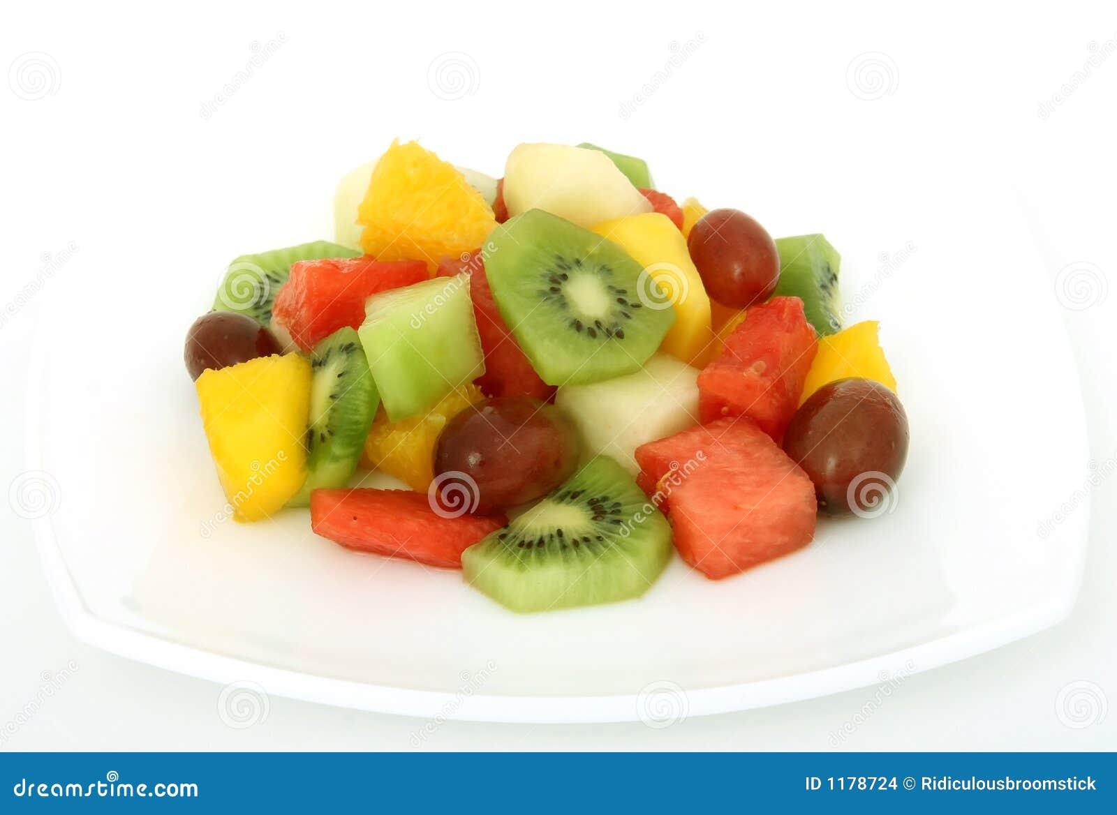 салат плиты плодоовощ coctail