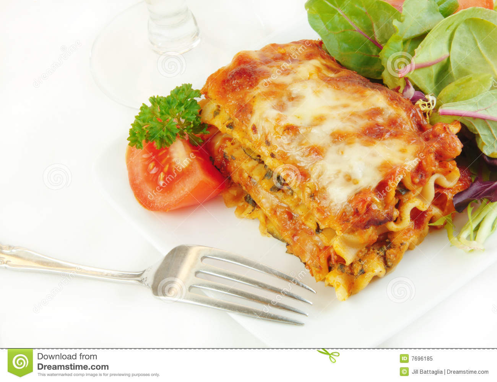 салат плиты lasagna