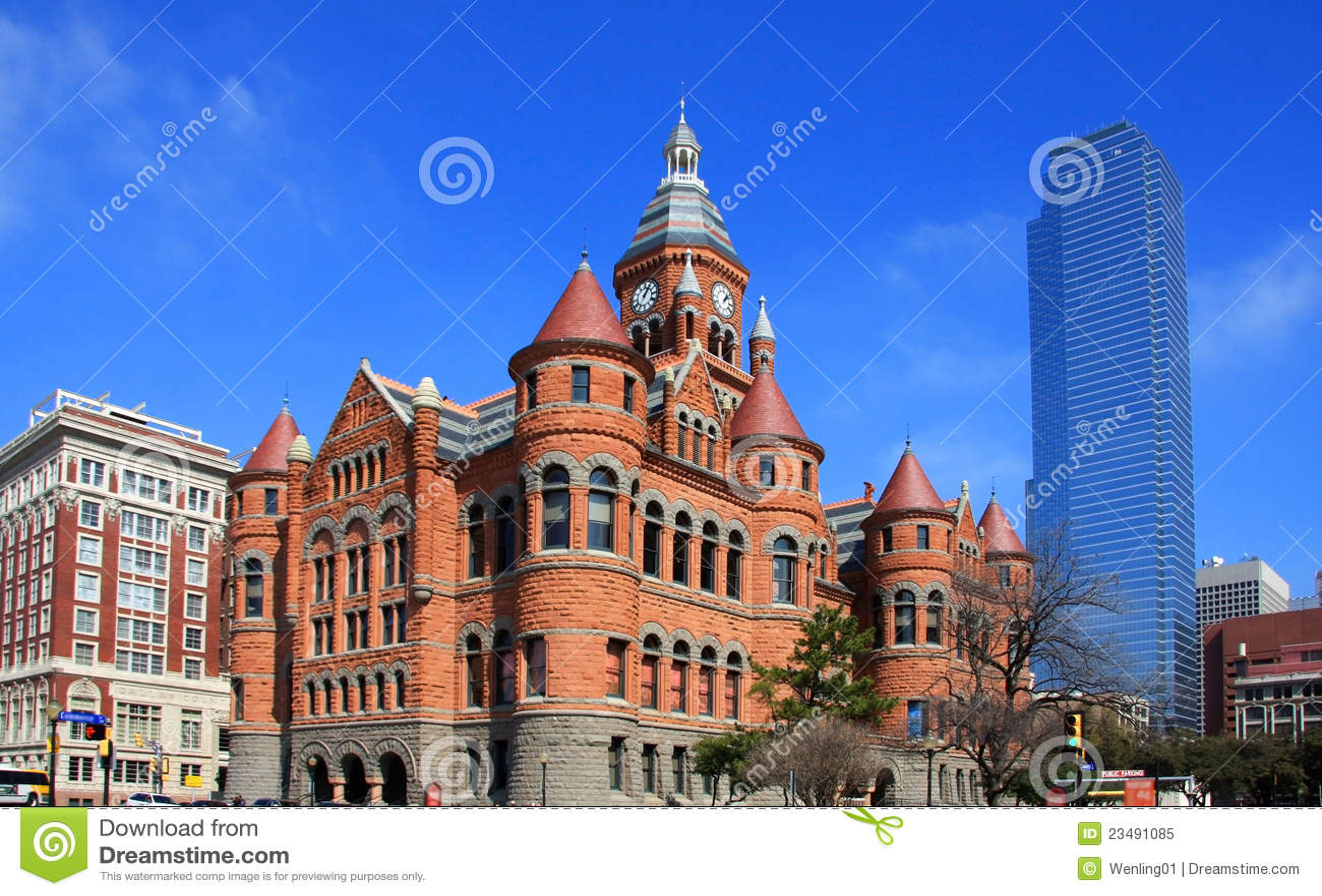 самомоднейшее dallas здания историческое