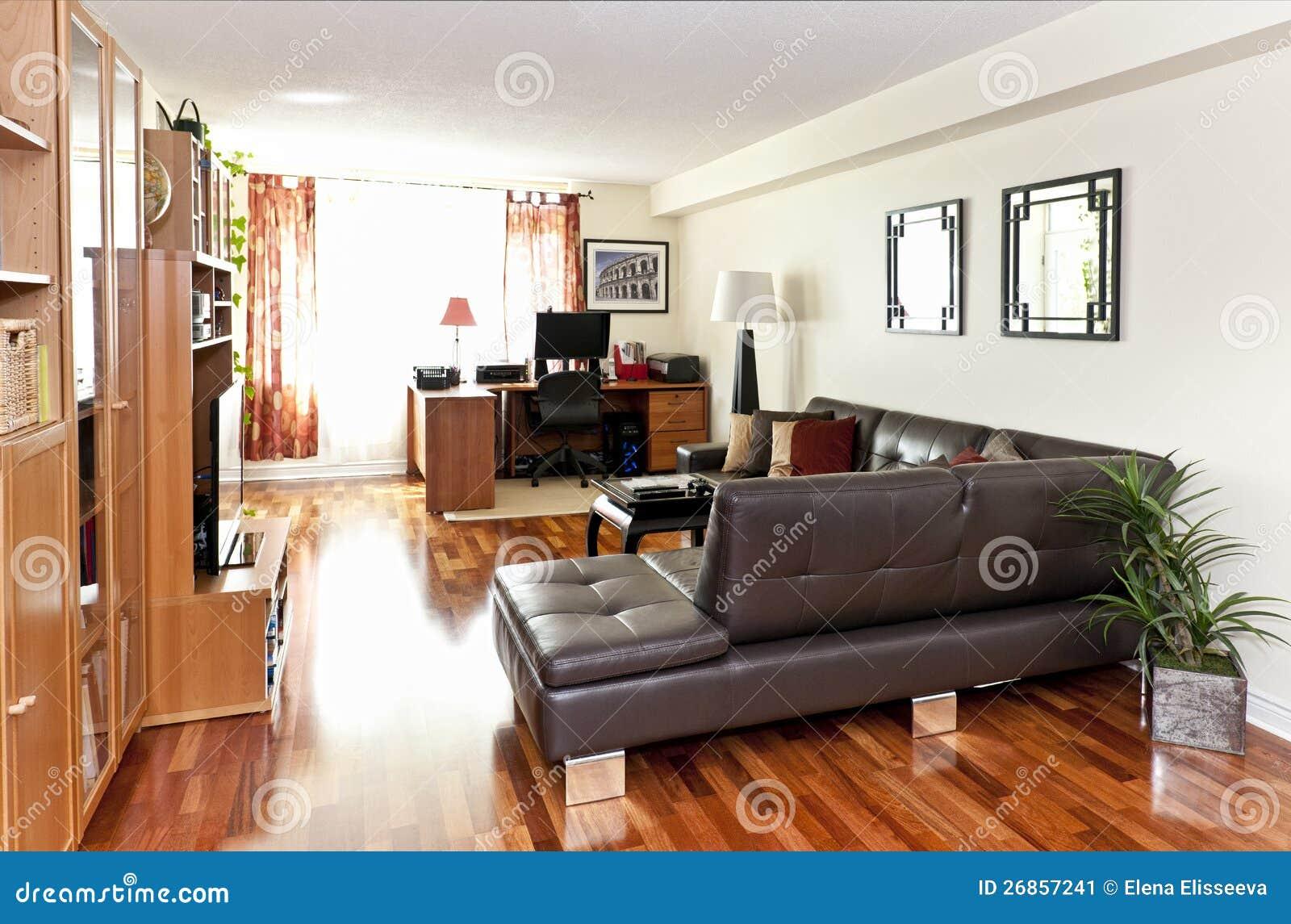 Самомоднейший живущий интерьер комнаты