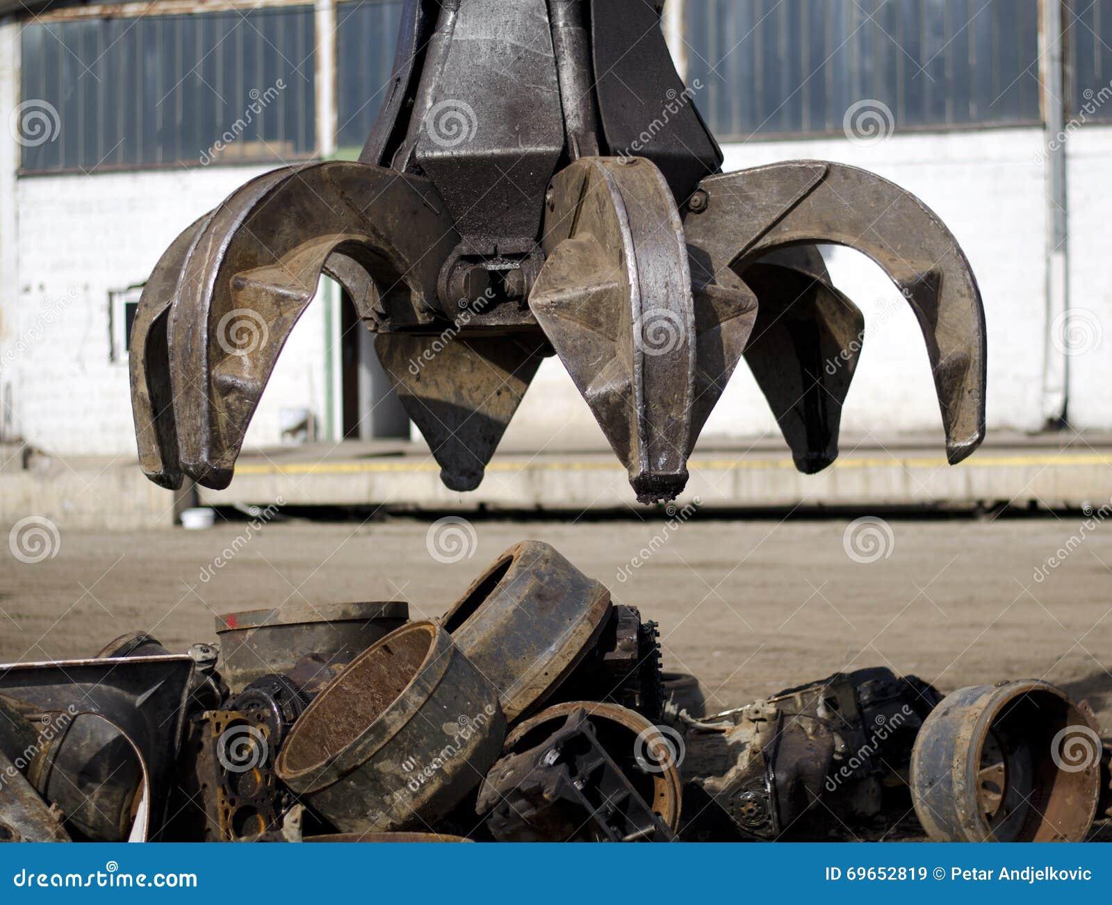 Самосхват корки для металлолома