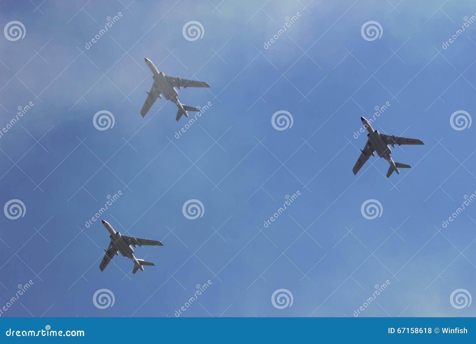 Самолеты в облаке