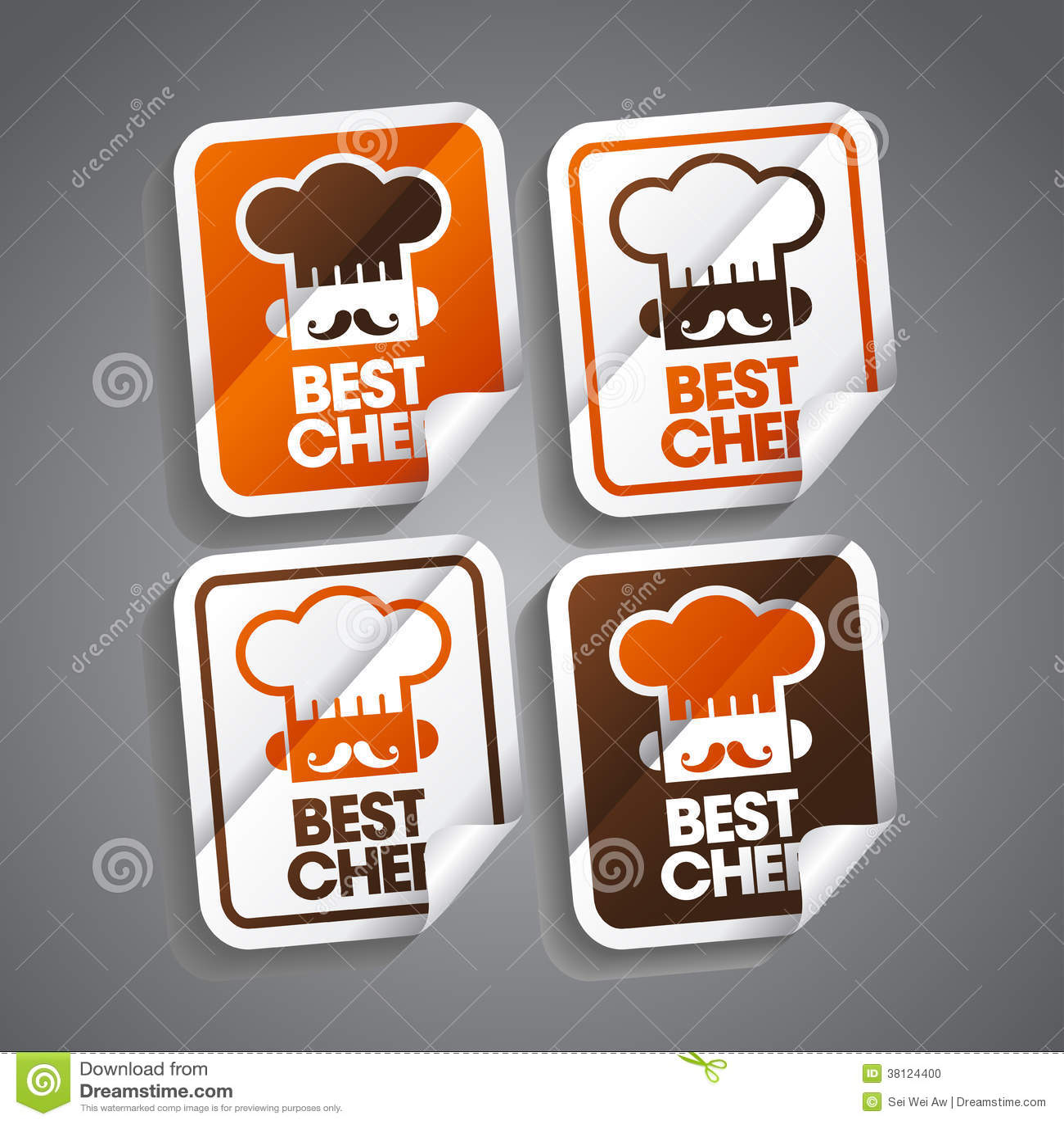 Самый лучший стикер шеф-повара