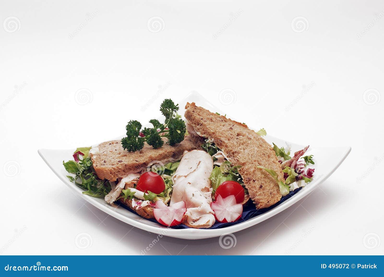 сандвич завтрака