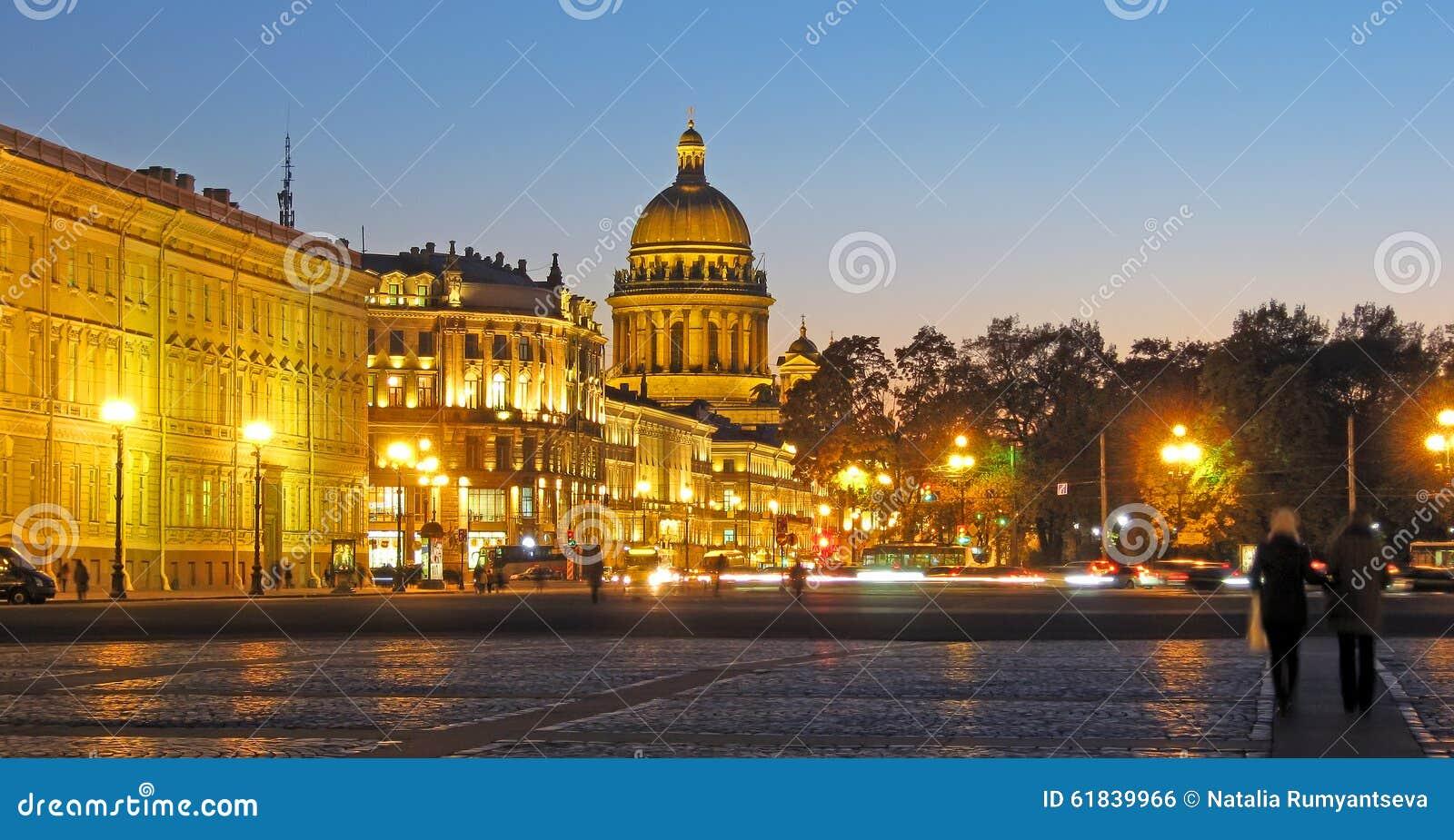 Санкт-Петербург Россия Собор St Isaac's