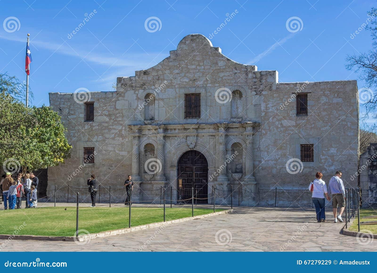Сан Антонио, TX/USA - около ноябрь 2015: Полет Alamo в Сан Антонио, Техас