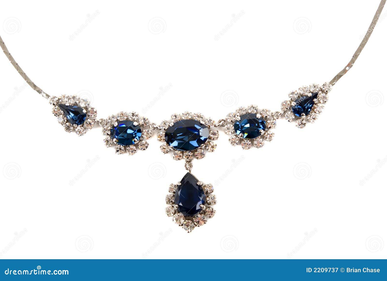сапфир ожерелья