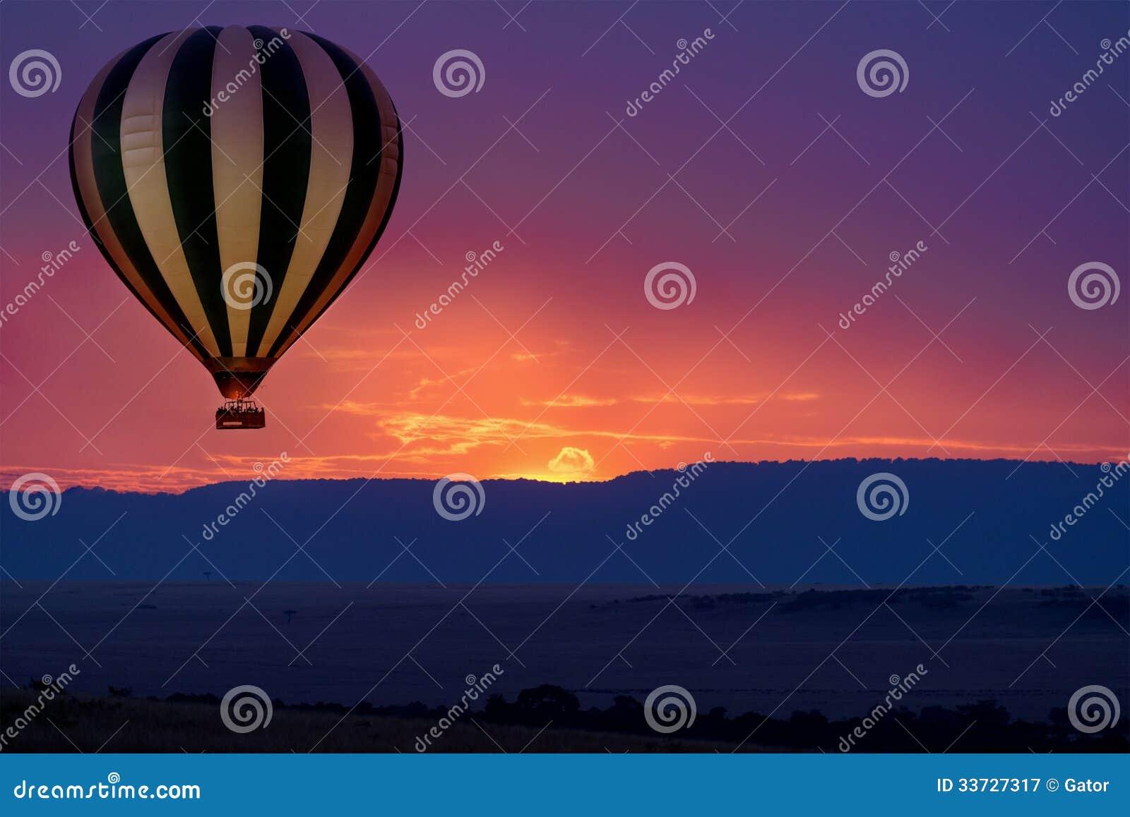Сафари воздушного шара