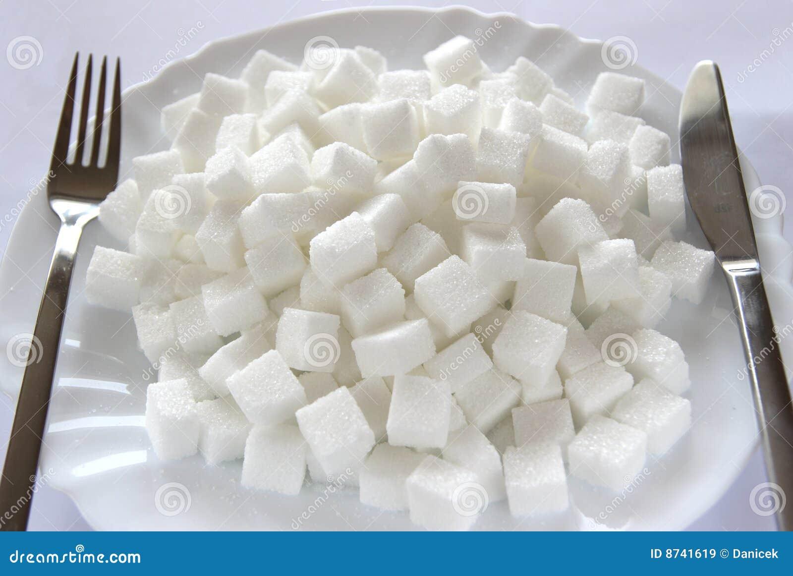 сахар плиты кубиков
