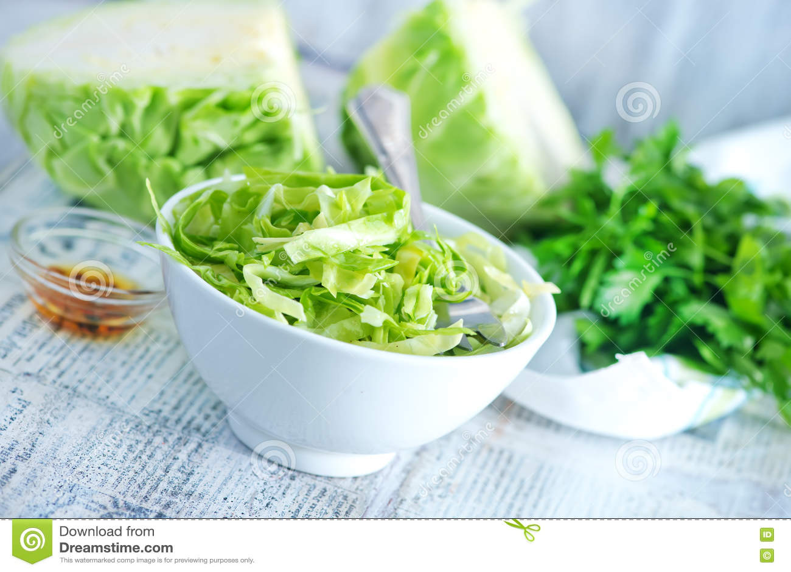 Download Салат капусты стоковое изображение. изображение насчитывающей порей - 72295057