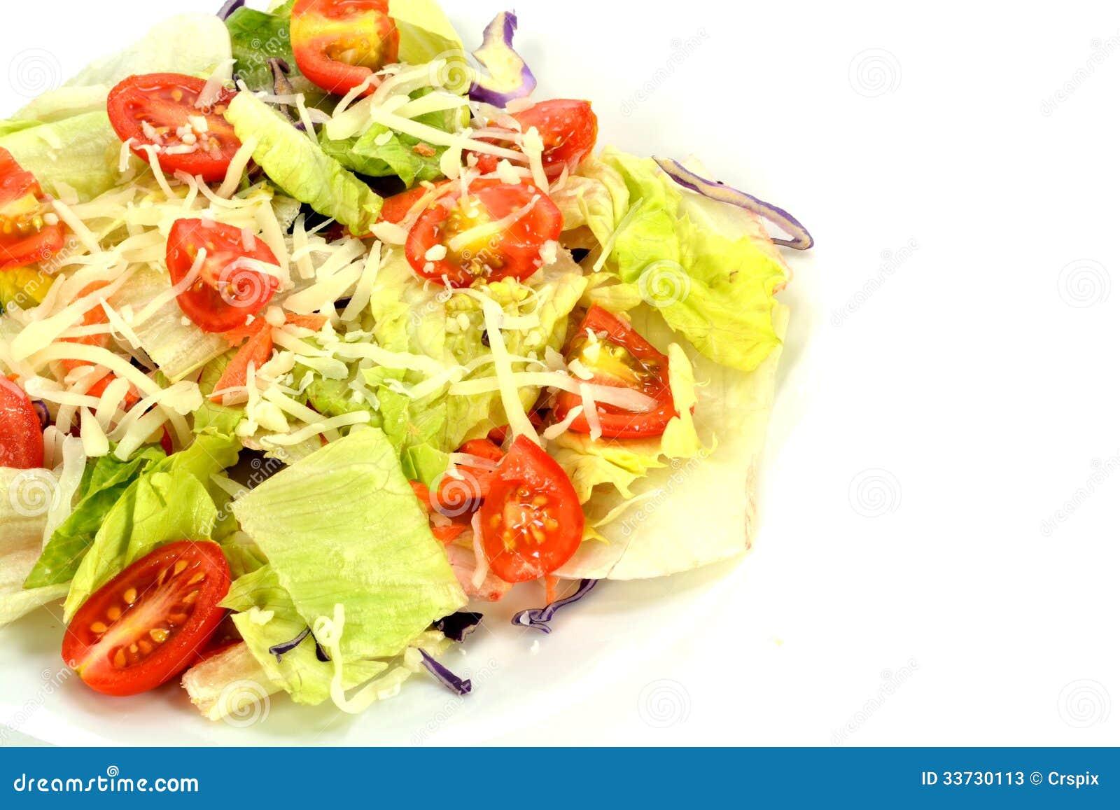 Салат на плите