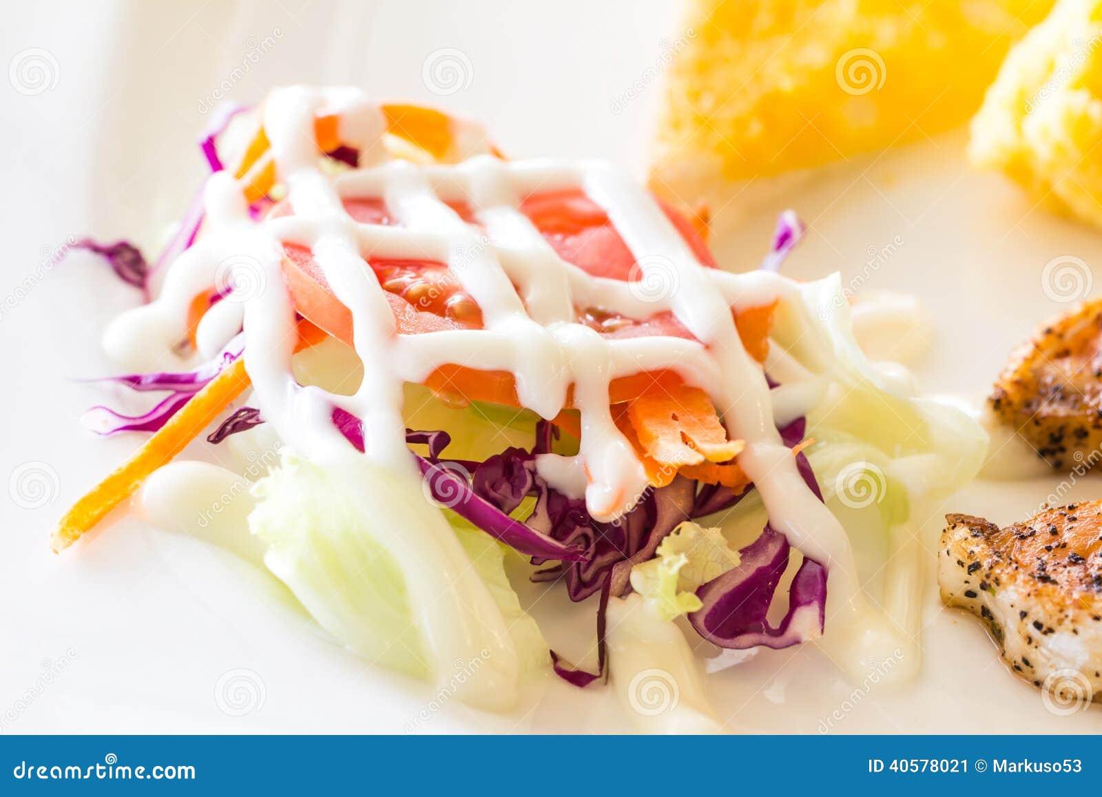 Салат овощей
