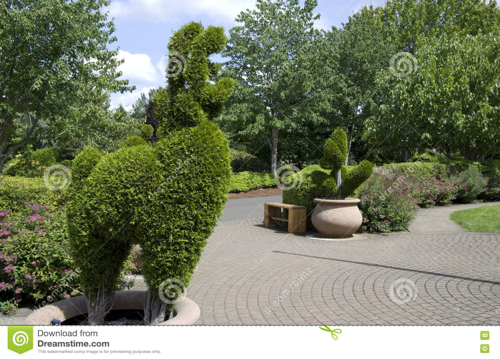 Download Сад детей в саде Орегона стоковое фото. изображение насчитывающей конструкция - 72283992
