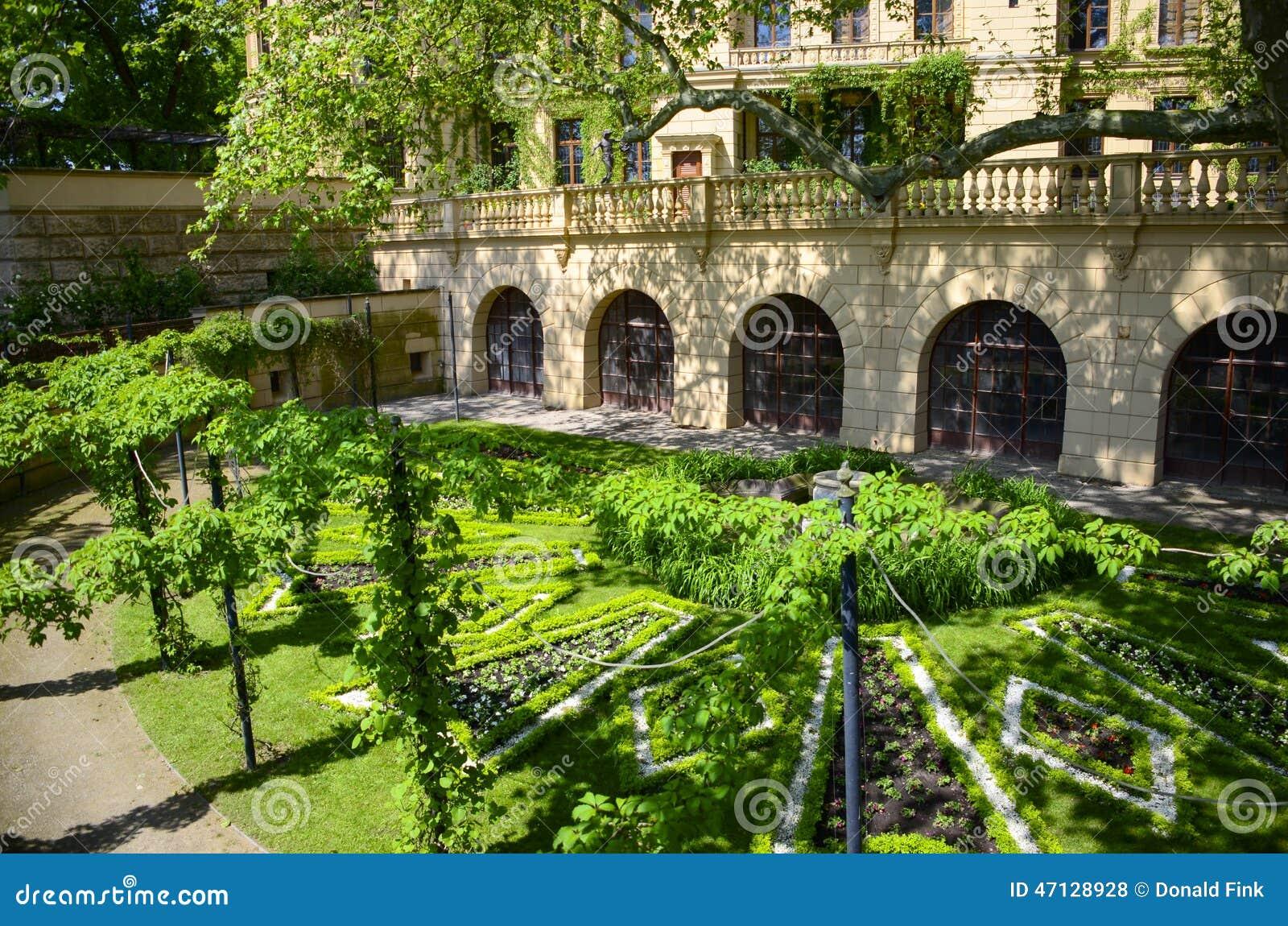 Сад замка Шверина