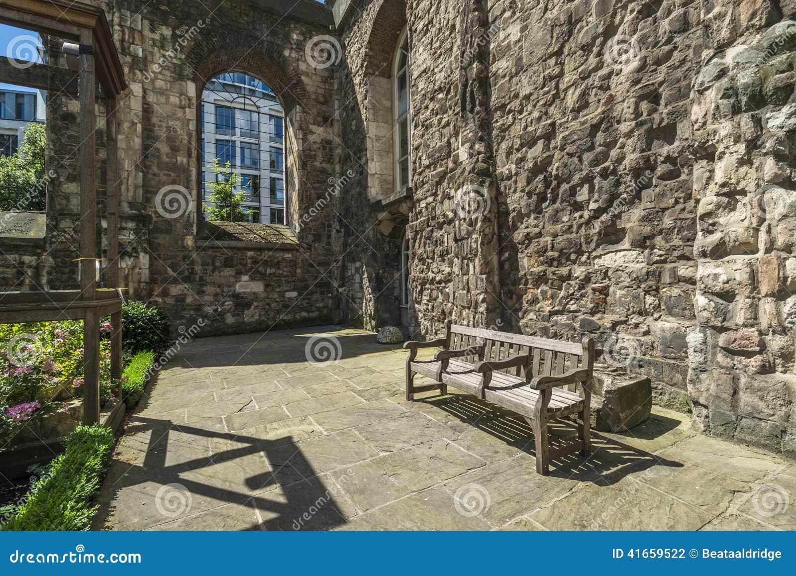 Сад Крайстчёрча Greyfriars в Лондоне