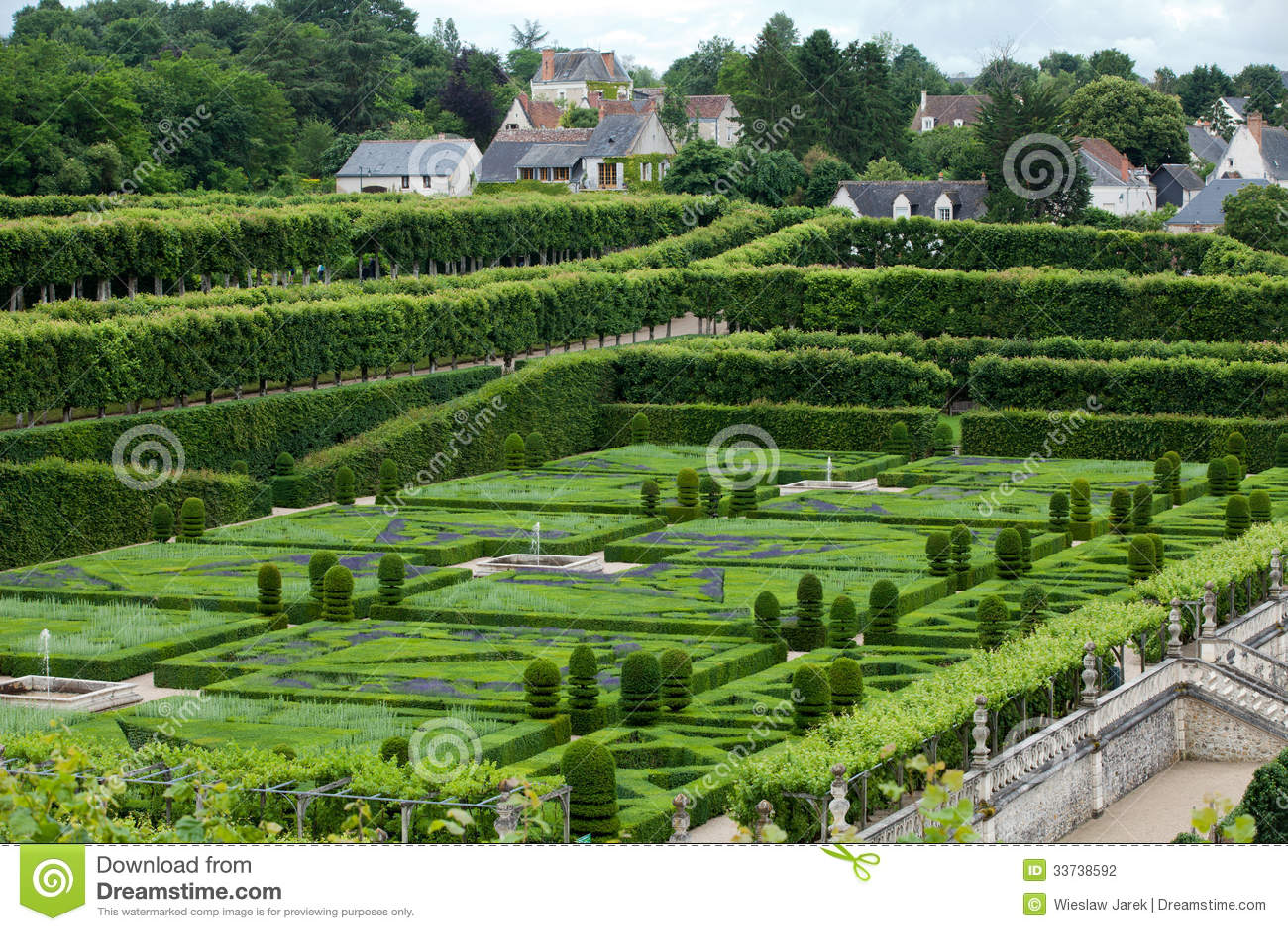 Сады и Замок de Villandry