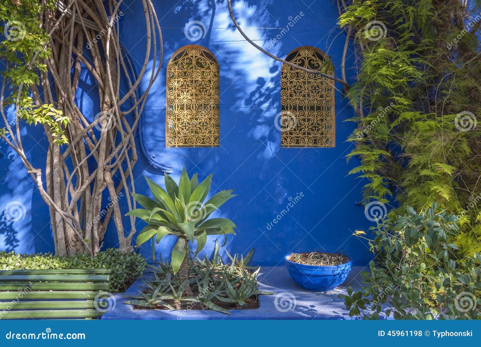 Сады Majorelle в Marrakesh