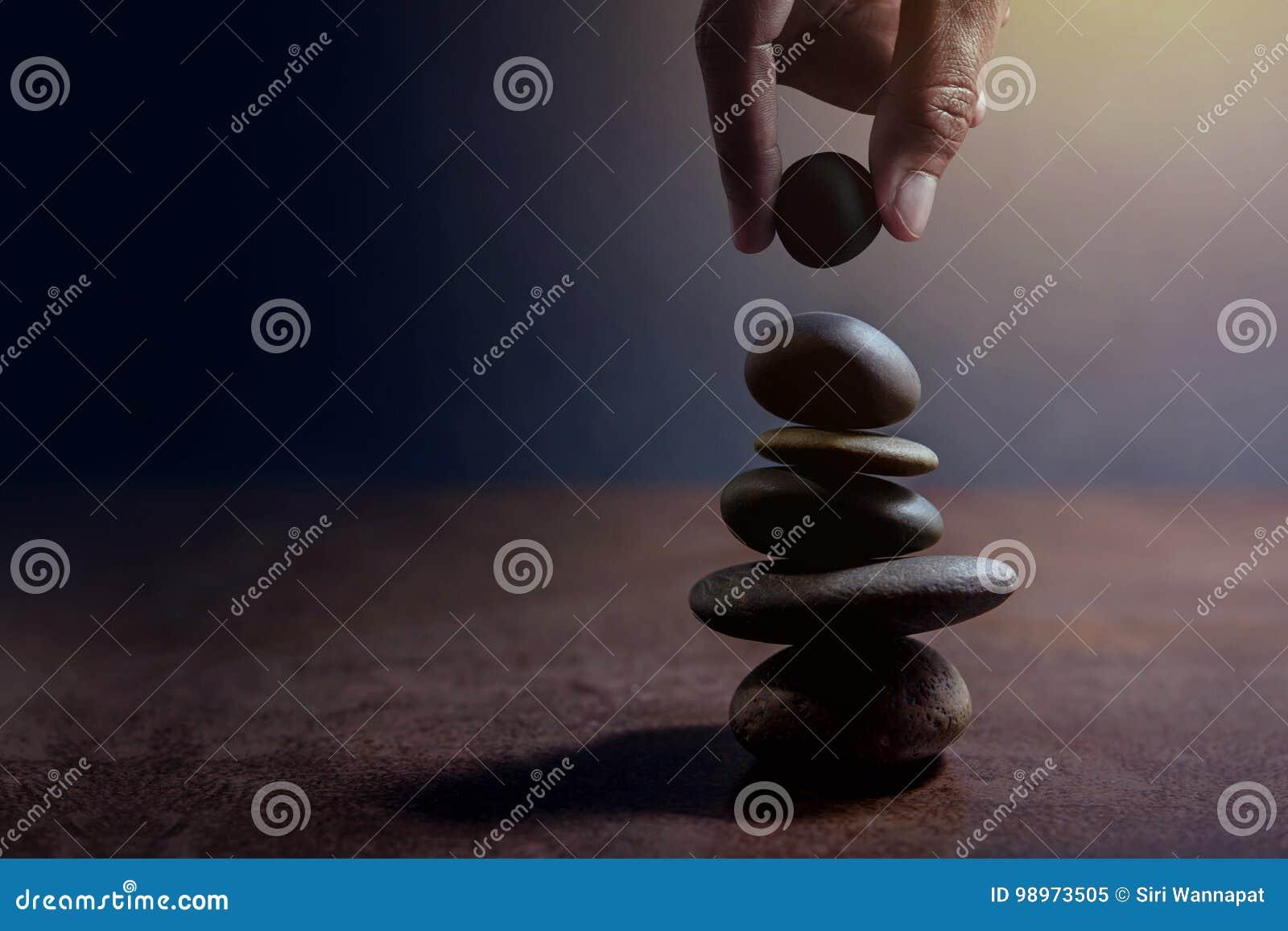 Сбалансируйте концепцию жизни и работать присутствующий вручную устанавливать