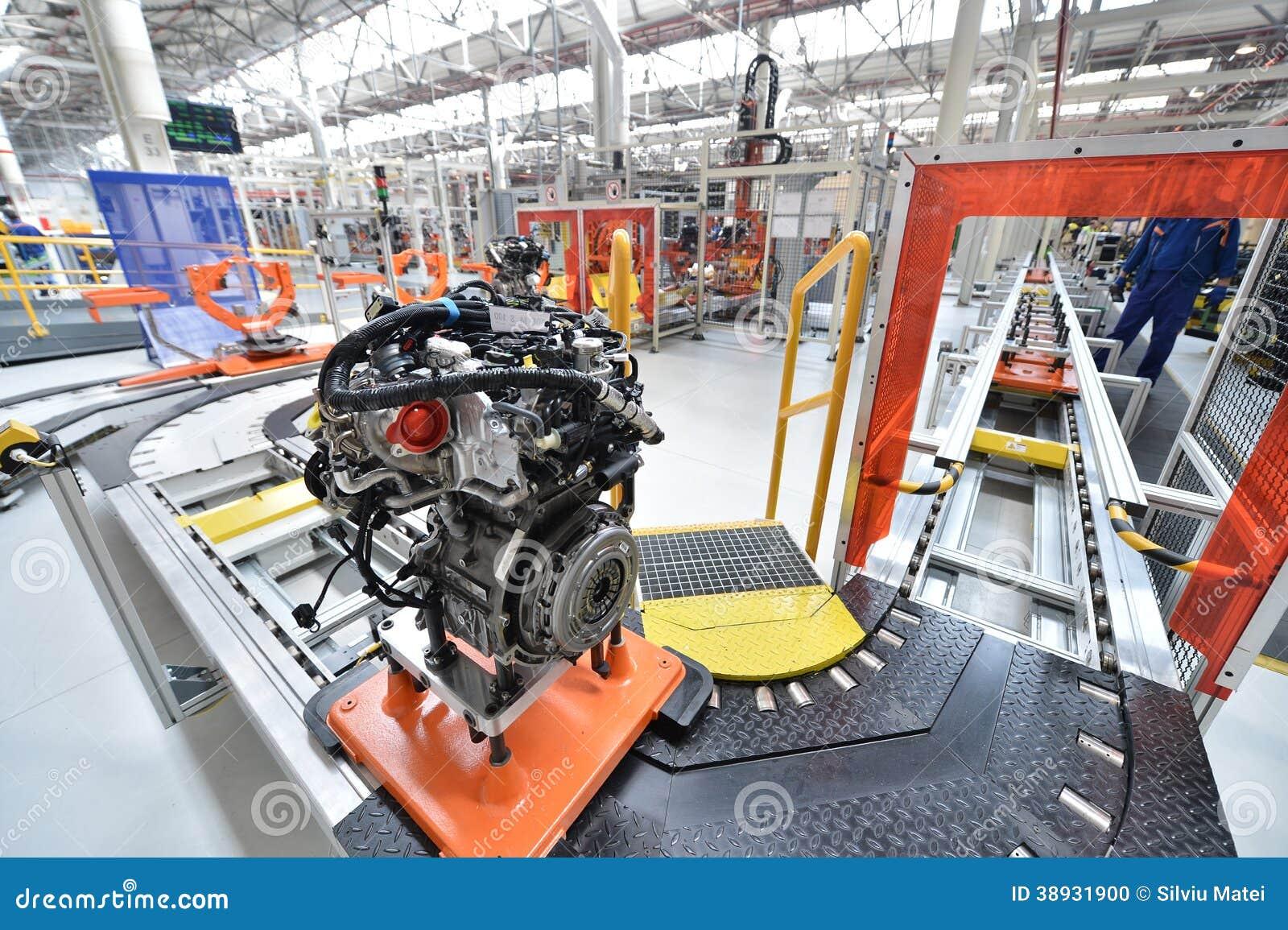 Сборочный конвейер двигателей как регулировать элеватор