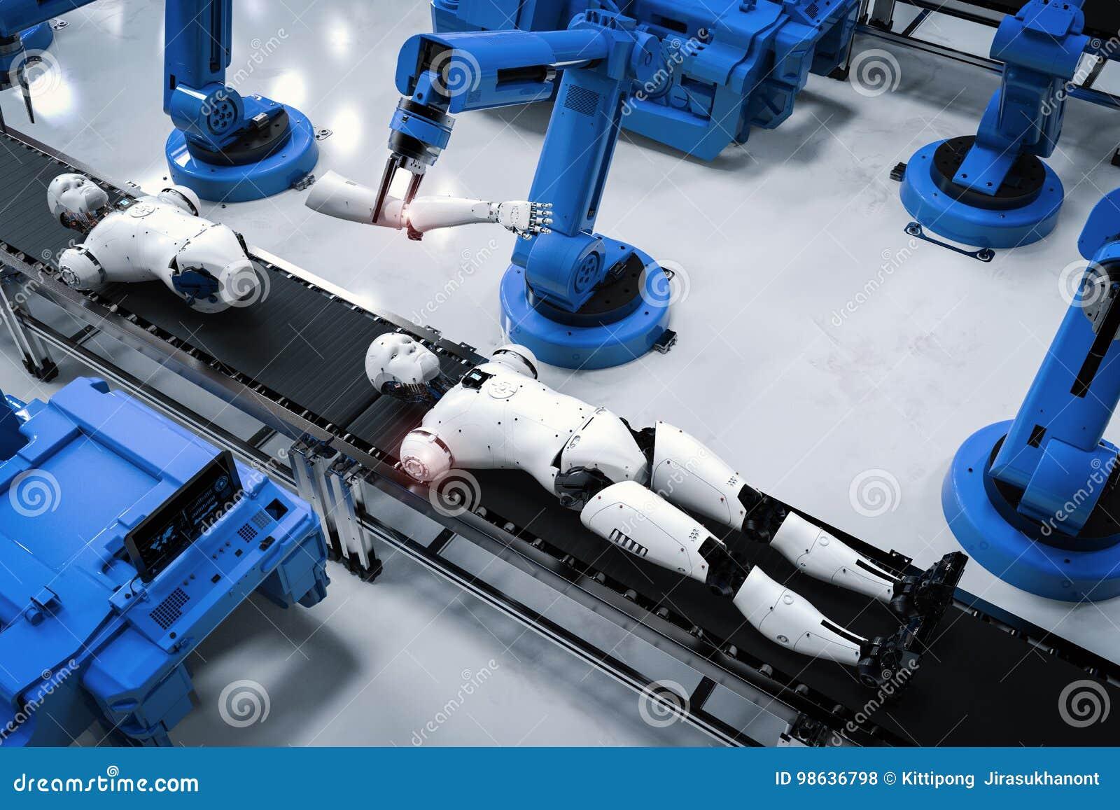 Робот конвейер для машин конвейер подвесной грузонесущий чертежи