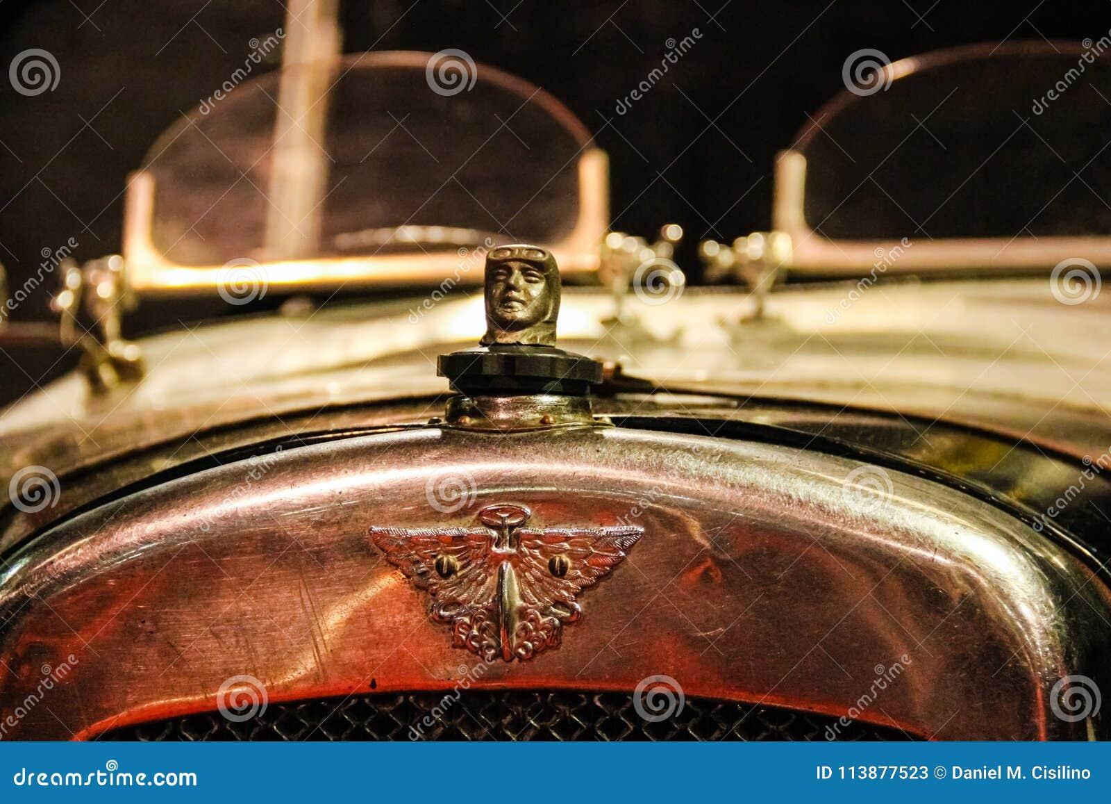 сбор винограда sepia автомобиля автомобиля ретро Талисман Остина bookbinding