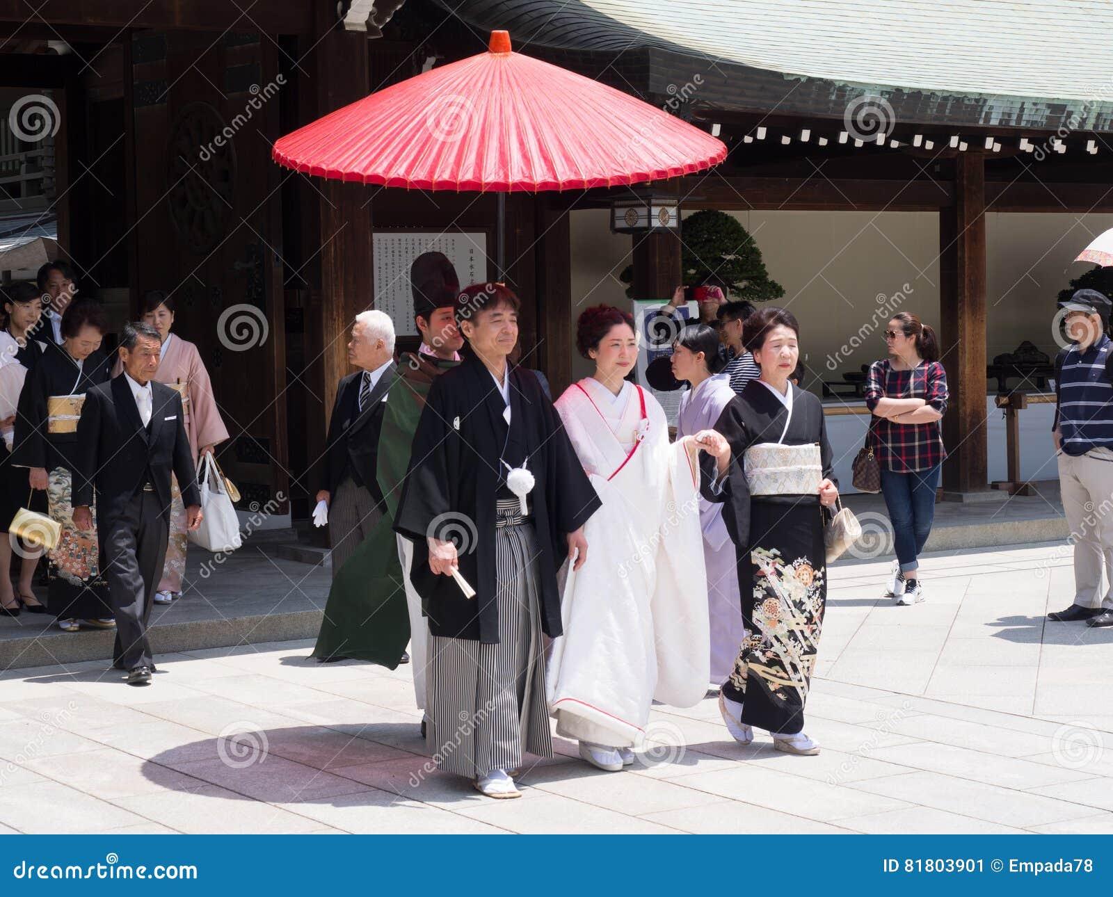 Свадебный банкет в святыне Meiji, токио, Японии