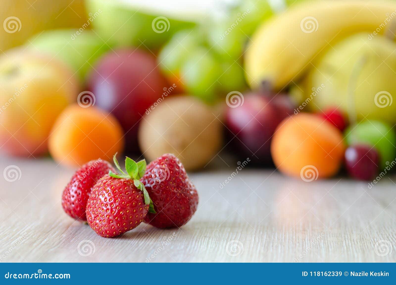 Свежая красочная предпосылка плодоовощей Здоровая еда, dieting concep