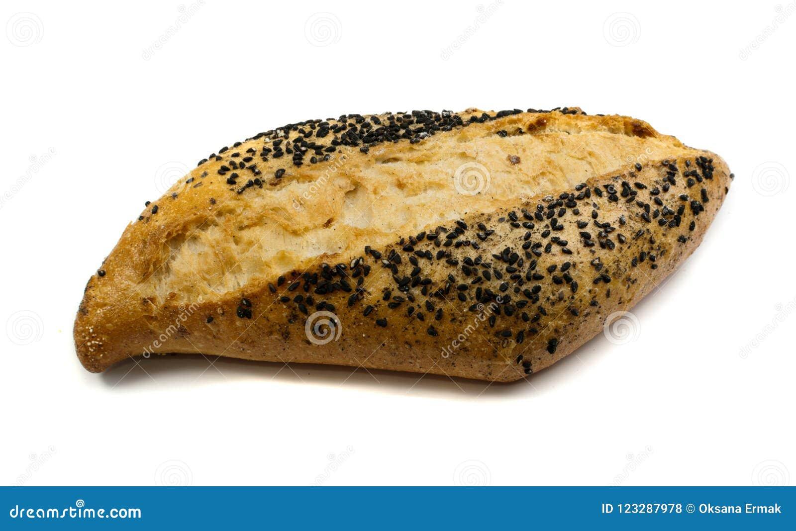 Свеже испеченный традиционный изолированный хлеб