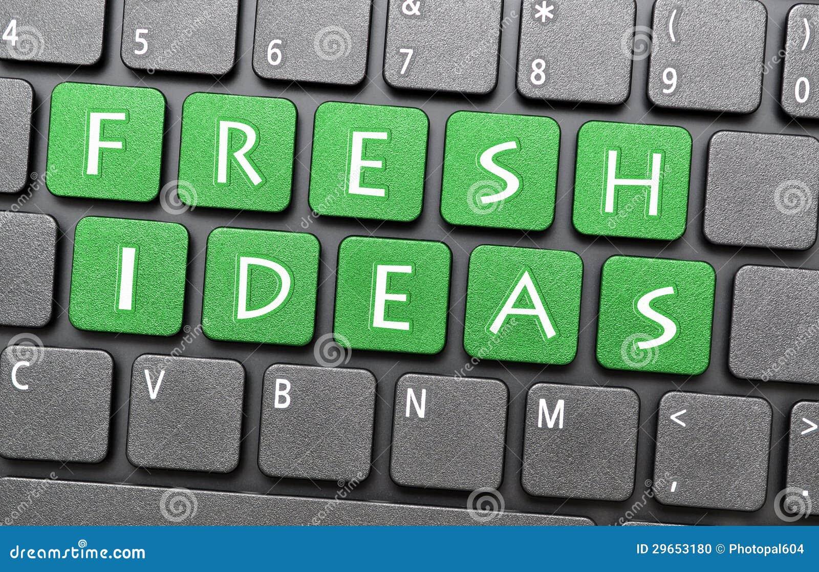 Свежие идеи