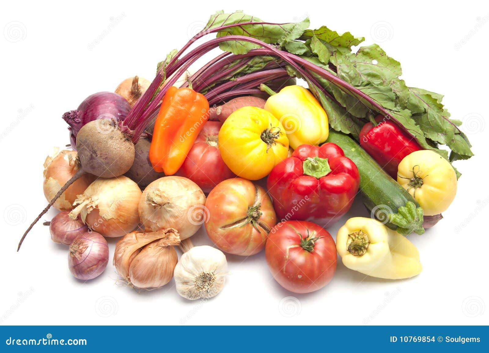свежие органические овощи лета