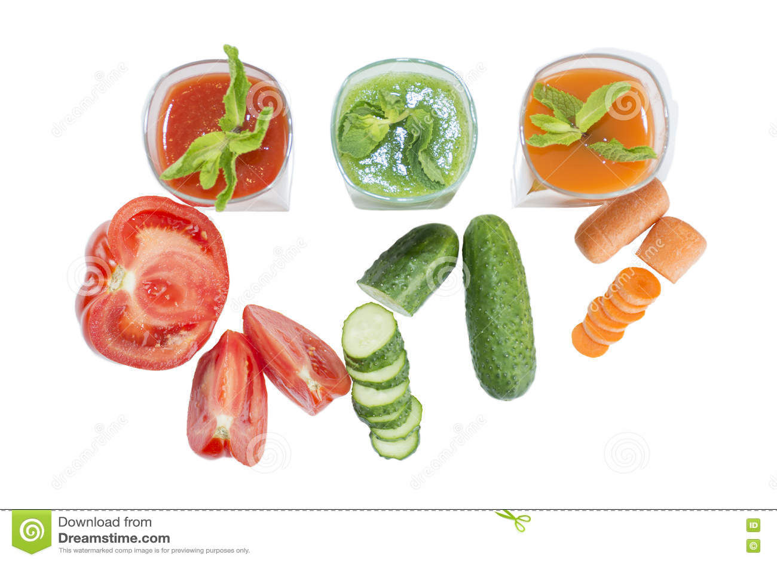 Download свежие соки стоковое изображение. изображение насчитывающей овощ - 72285913