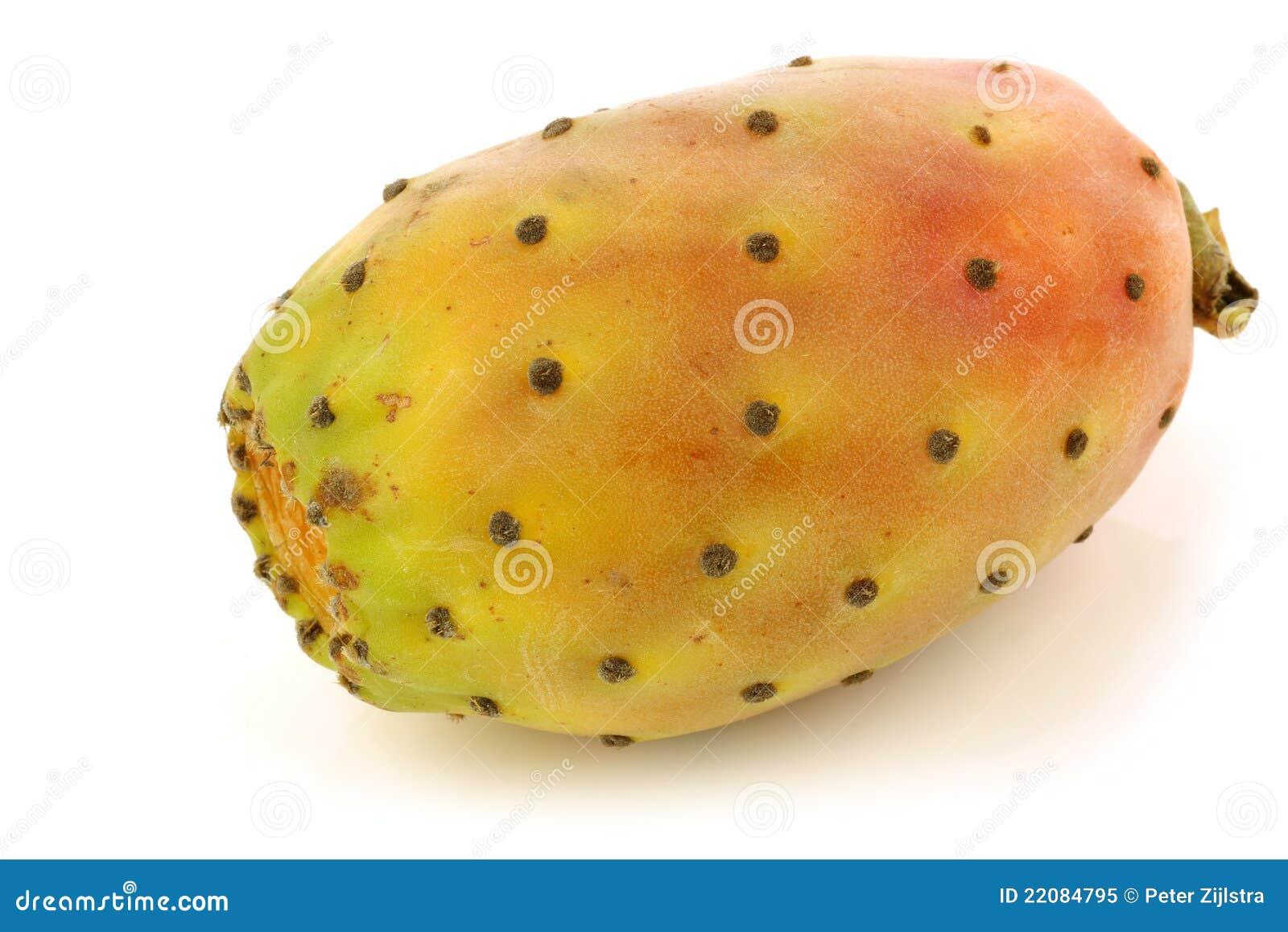 свежие фрукты кактуса цветастые