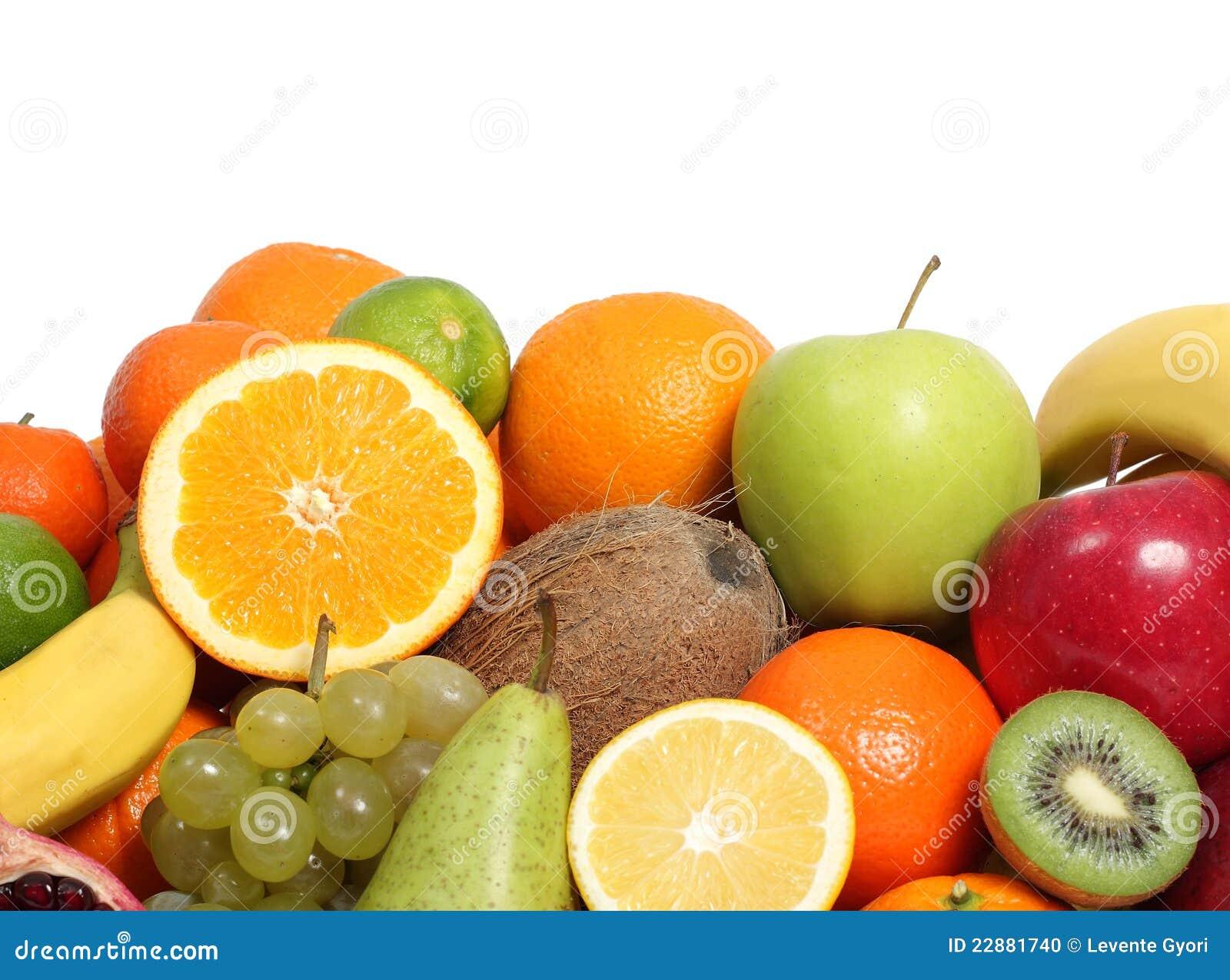 свежие фрукты предпосылки
