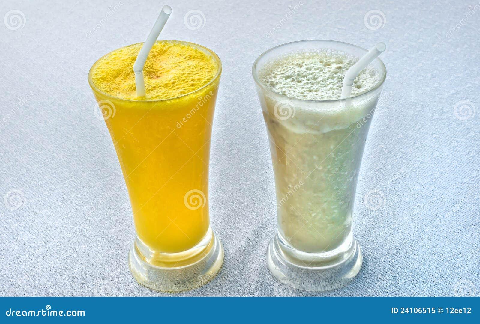 свежие milkshakes тропические 2