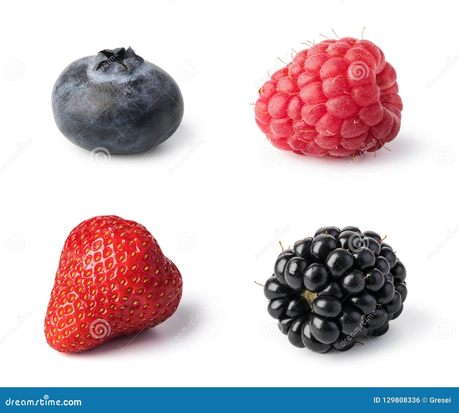 Свежий комплект ягод
