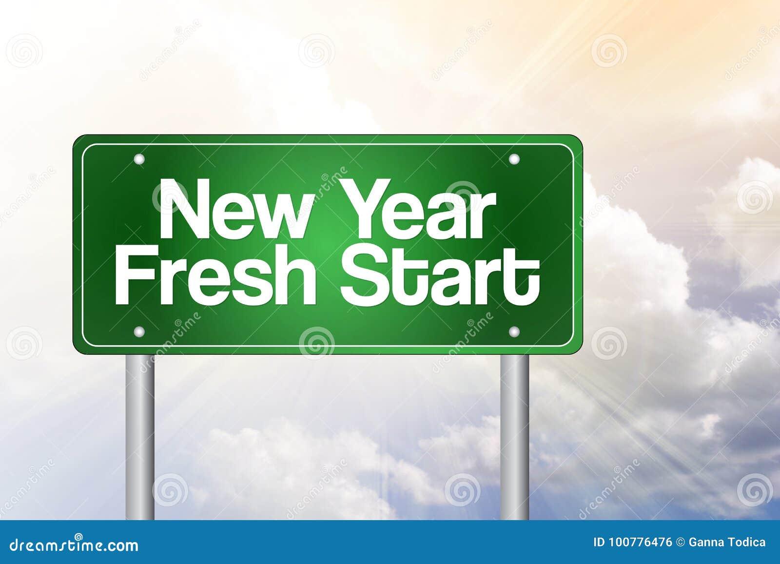 свежий новый год старта