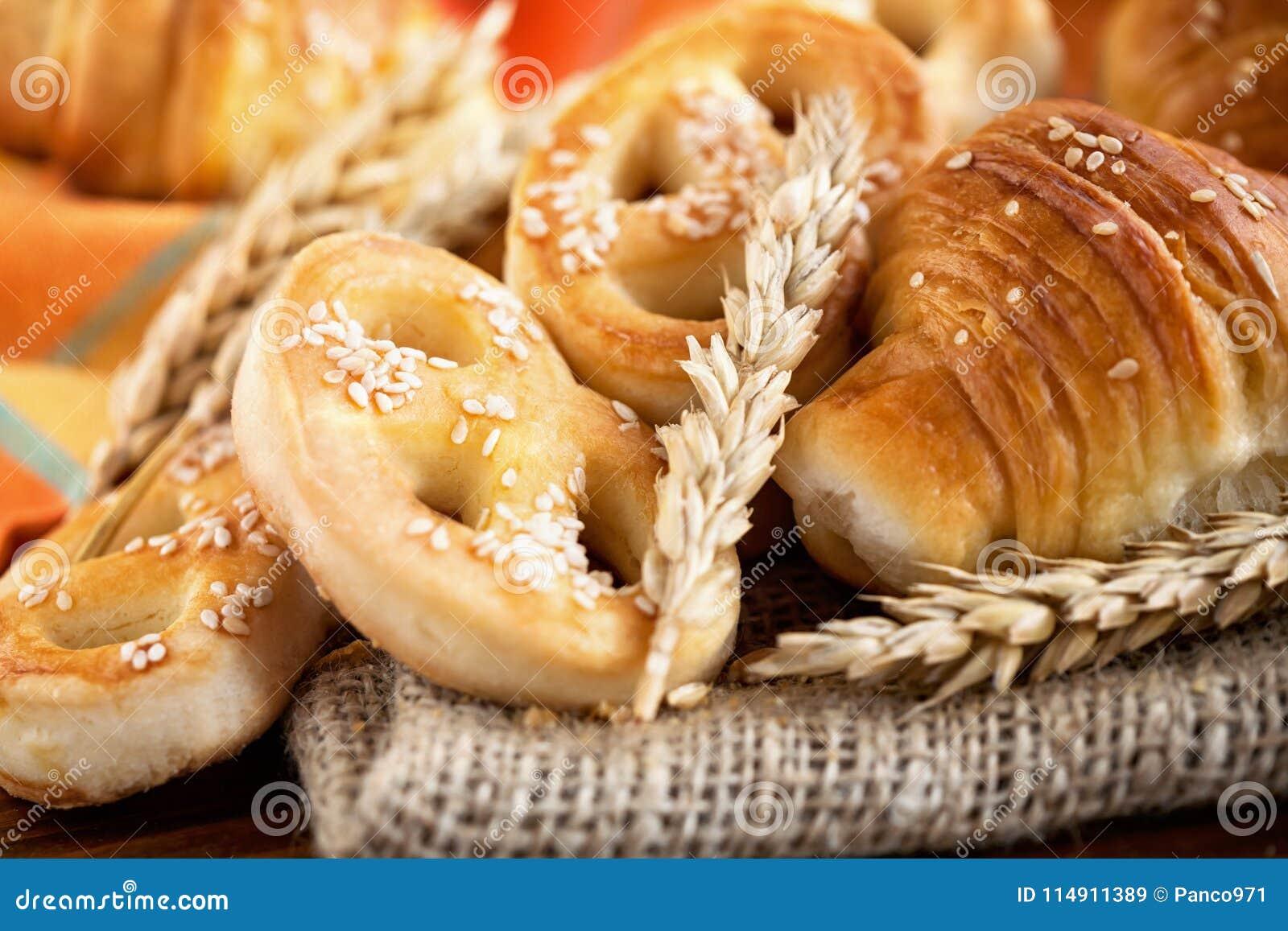 Свежий продукт хлебопекарни