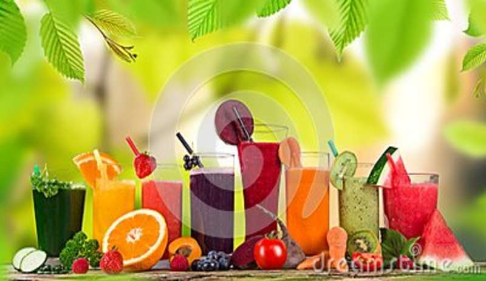 Свежий плодоовощ смешивания сока